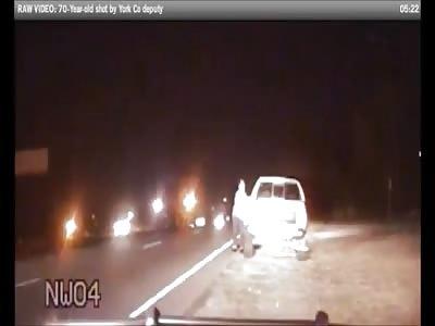 Police Dashcam Shows Cop Shoot 70-year-old Vietnam Veteran