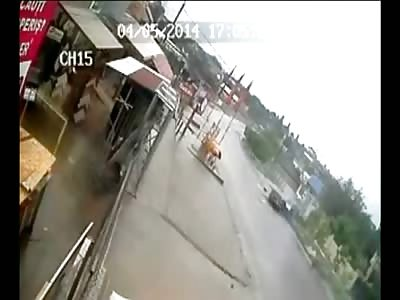 Speeding Driver is Killed in Horrific Crash (2 angles)
