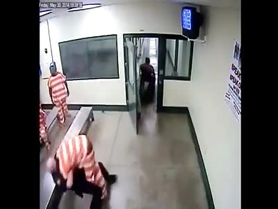 Inmate Assaults Deputy After Being Pepper Sprayed