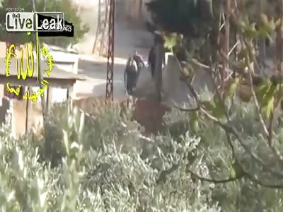 Syria- FSA IED vanishes SAA patrol nov 9  2013