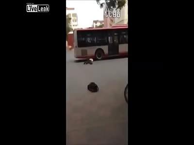 Man Commits Suicide Under Bus Wheel