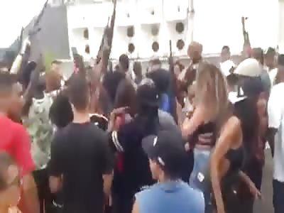 Funk Party in Rio de Janeiro