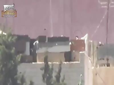 Machine Gun Sniper Kills One