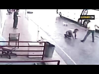 Man Beaten with Sticks then Shot in the Leg