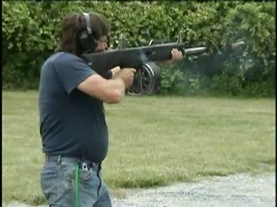 AA-12 Shotgun in action