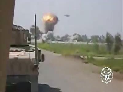 UFO destroys Taliban base. Real or Fake?
