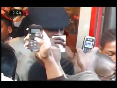 reggae star beenie man gets robbed during visit to London neighbourhood