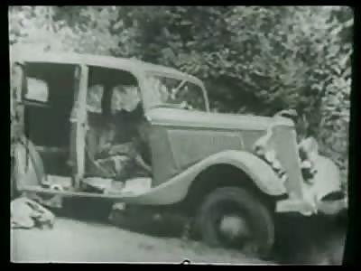 Bonnie & Clyde Ambush Aftermath Video