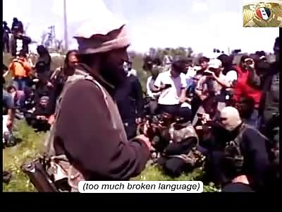 Uncensored+English Subs 3 Men beheaded