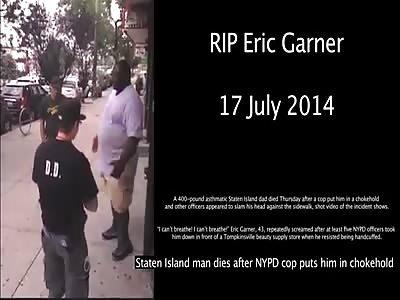 NYPD Kills Black Man with Choke Hold