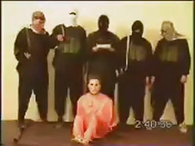 Nick Berg Beheading - FULL VIDEO (VERY GRAPHIC - SCREEMS of DEATH)