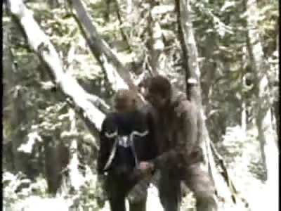 sex on dead bear
