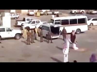 Very Effective Public One Swipe Sword Beheading