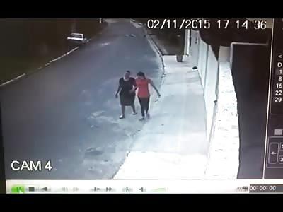 Woman Fatally Struck by Speeding Car Sent Flying