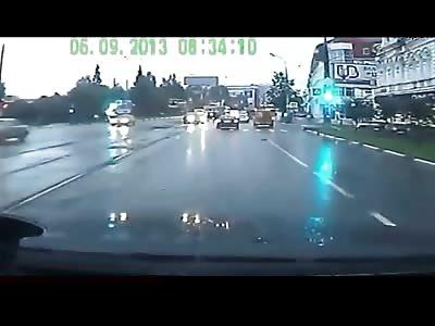 Amazing Fatal Head on Collision