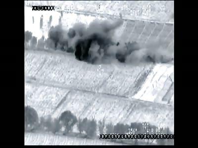 A-10 Warthog Strikes Taliban