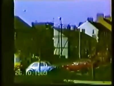 IRA attack British Army Barracks Co Armagh Northern Ireland 1989