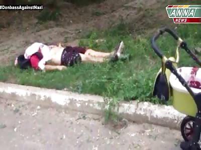 Ukrainian Shelling Aftermath