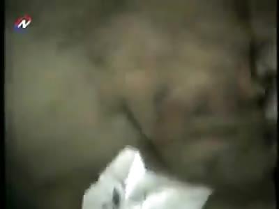 hombre se encuentra con deposito de cadaveres abandonados