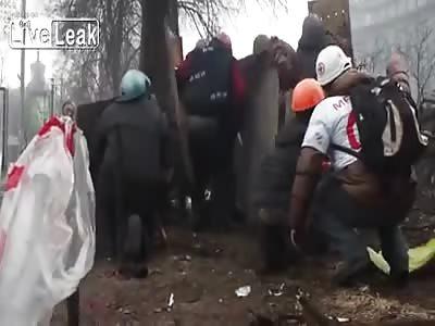 Ukraine Protesters Shot Dead