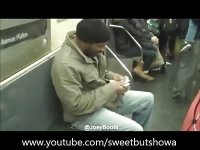 Honkey Stole My Dollar, Racist Black Guy