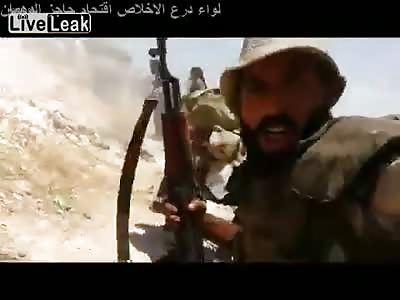 FRONTLINE ISIS IRAQI ARMY