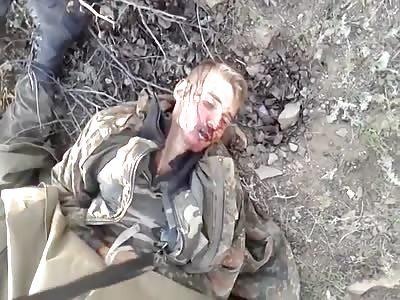 Ukrainian soldiers met their end. at the east of Ukraine.
