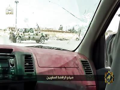Islamic State Drive By Shootings AK-47 Rifles (New)