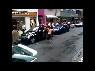 AWESOME Brazilian Crackhead Wrestling