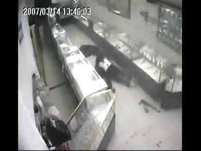 Classic, Jewelry Store Homicide in Monterrey, Mexico
