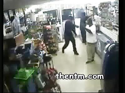 Brutal Thugs Rob Corner Store
