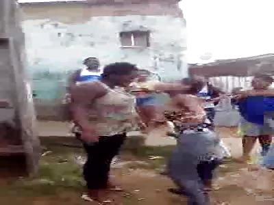 Brazillian Niggers fight