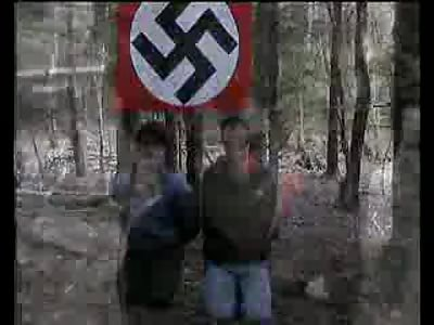 The brutal beheading Caucasian Russian Nazis