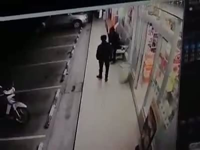 WILD AMBUSH: Man Suffers Savage Attack with Iron Bar