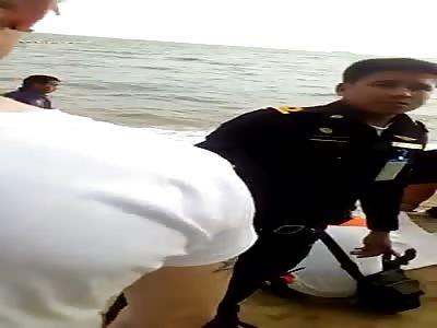 GIRL FOUND DEAD AT THE BEACH
