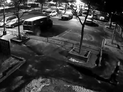 COWARD MURDER IN PARKING