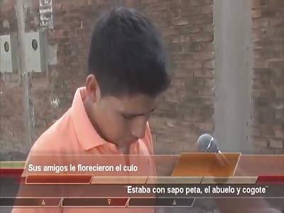 SUS AMIGOS LE FLORECIERON EL CULO (HIS FRIENDS FUCK HIM IN THE ASS)