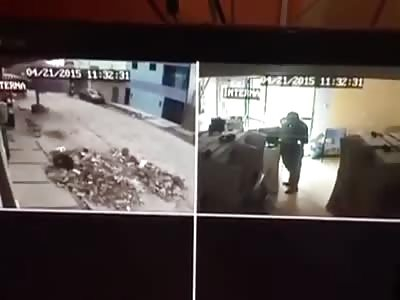 BANDIT KILLS MAN AND HURT CHILD