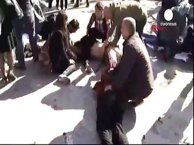 AFTERMATH OF ANKARA EXPLOSION
