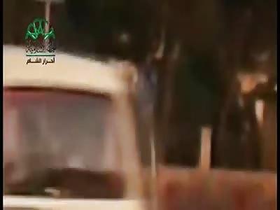 CAR EXPLODES KILLING 3 MEN