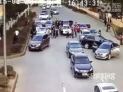CHINESE MAFIA STRIKES AGAIN