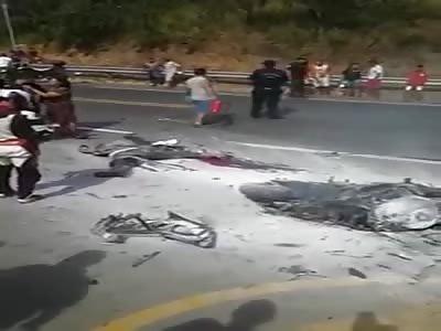 RIDER DIES IN ACCIDENT