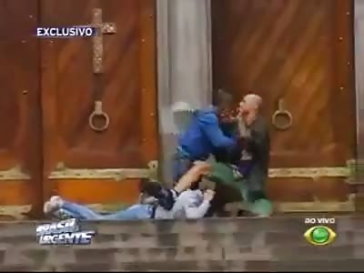 Death in São Paulo Brasil Dood in Sao Paulo Brazilië