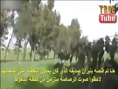 Muslims killing muslims.
