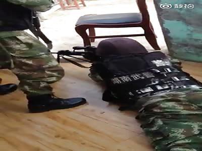 Criminal shot and killed by sniper