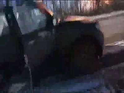 Fire Rages After Mortar Hits Ukraine Pipeline Near Debaltseve