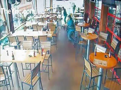 Surveillance footage shows chaos of Waco Shooting.