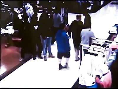 Caught On Camera: Gang Shooting At Monroeville Mall Macys