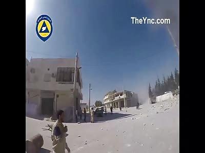 Syria Moment Bomb explodes