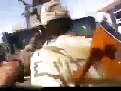 Iraqi Shia Militia Mutilate Decapitated Bodies of Slain ISIS Soldiers